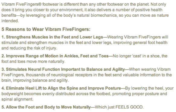 5 Reasons to Wear Vibrams